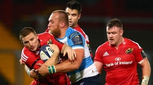 Munster take on Stade Francais on Saturday, 9 January