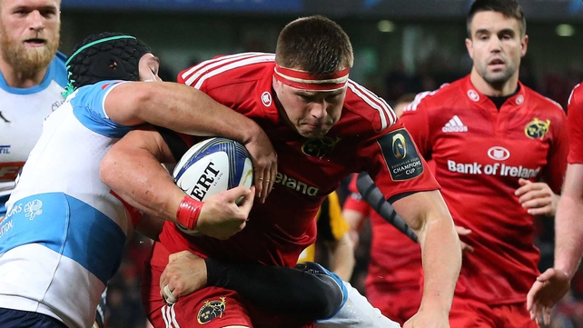 CJ Stander extends his deal with Munster