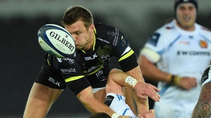 Dan Biggar's 20-point haul led Ospreys to victory