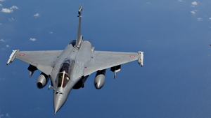 A number of French Rafale fighter jets were involved in the strikes