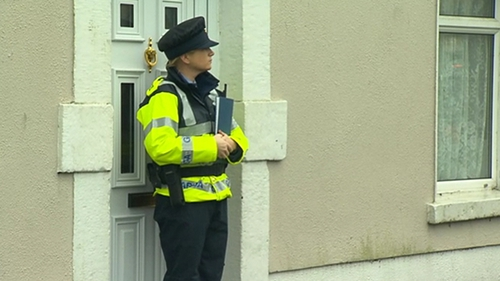 Gardaí have appealed to anyone who witnessed suspicious activity near the scene yesterday to contact them