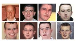Eight men were killed in the crash