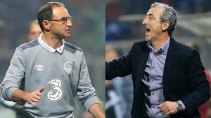 Managers Martin O'Neill and Mehmed Bazdarevic