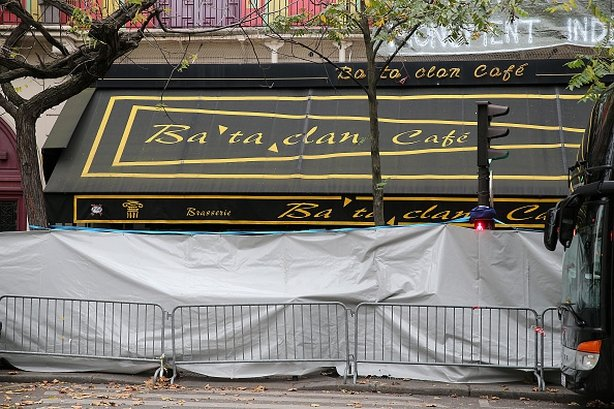 The Bataclan concert hall where 89 people were killed