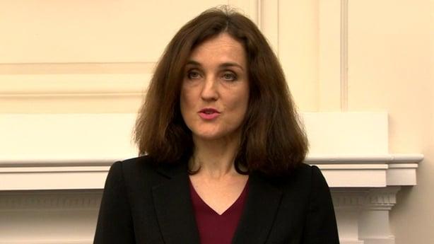 Ireland Secretary Theresa Villiers