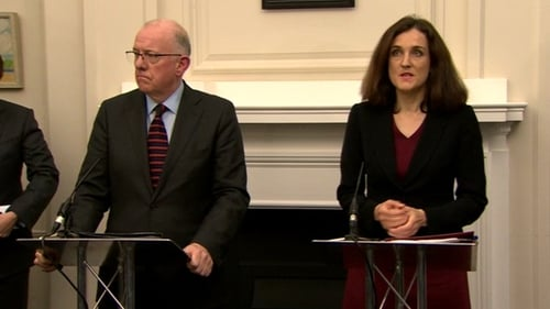 Charlie Flanagan and Theresa Villiers welcomed the deal
