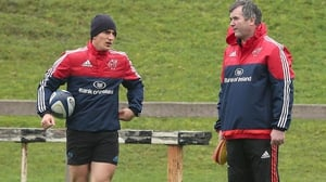 Anthony Foley (r): 'I don't think it just affects the Stade Francais players, it would affect all players on the pitch'