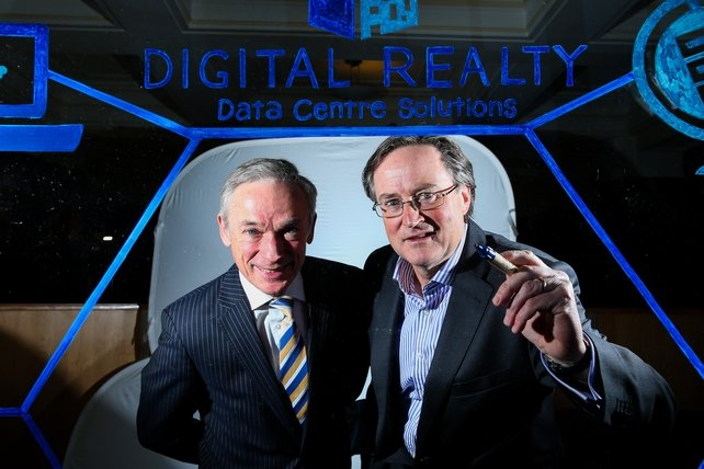 Digital Realty handles storage and back-up for some 600 firms across a network of global data centres