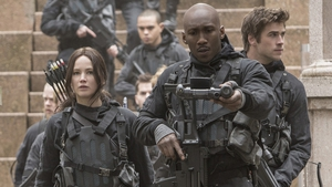 Jennifer Lawrence is excellent as Katniss but there isn't near enough action