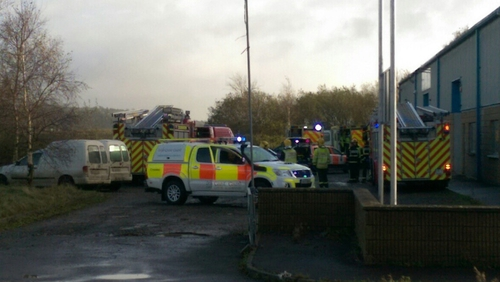 The accident occurred at an industrial estate Youghal