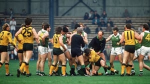 A fight breaks out during the 1987 series