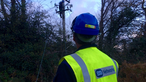 ESB Networks has restored power to the majority of customers who had lost their electricity supply
