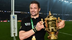 Richie McCaw's final match was the 2015 Rugby World Cup final win against Australia