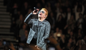 Bono and co played the first of two nights in the SSE Arena in Belfast last night