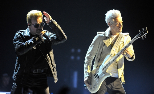 U2 played their first gig in Belfast in 17 years on Wednesday night