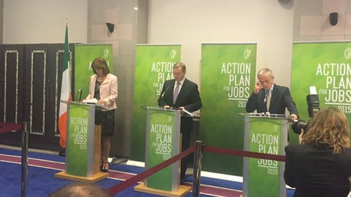 Enda Kenny said 1,000 jobs a week are being added to the economy this year