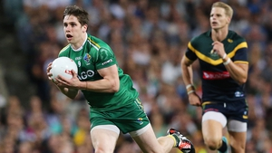 Lee Keegan in action during the 2014 loss in Perth