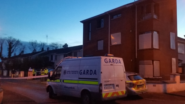Scene at Tailtean Drive has been sealed off by gardaí