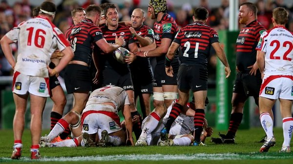 Saracens beat Ulster in the quarter-finals last season