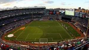 Could Ireland meet Australia at the Yankee Stadium New York?