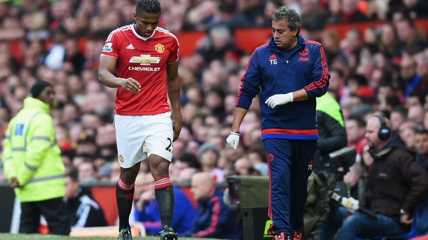 Valencia suffered the injury to his left foot in the draw against Manchester City last month