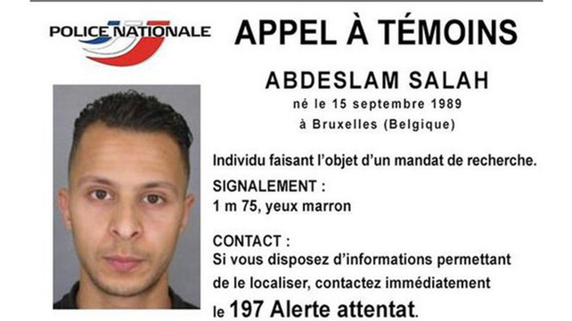 Belgian prosecutors said Abdeslam and a second man arrested with him yesterday were charged with 'participation in terrorist murder'