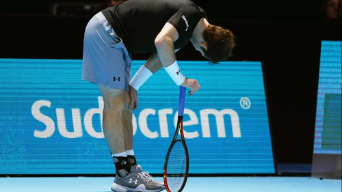 Andy Murray endured a disappointing 7-6 (7/4) 6-4 loss to Stan Wawrinka at the ATP World Tour Finals