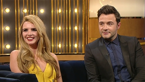 Nadine Coyle and Shane Filan on The Ray D'Arcy Show