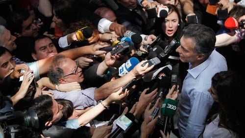 Argentina's election body said Mauricio Macri had 52.1% of votes in the election