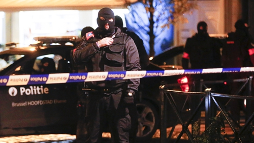 European authorities have swooped on militants they link both to the Brussels attacks that killed 31 people and to attacks in Paris last November that killed 130