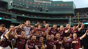 The Galway hurlers were playing a bit of 11-a-side in Boston last week