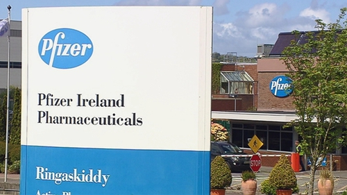 Pfizer plans to build a development facility on its existing Ringaskiddy site in Co Cork