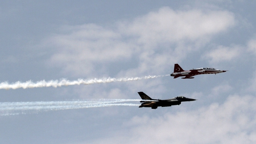 Turkey has launched three air offensives in the region so far this week