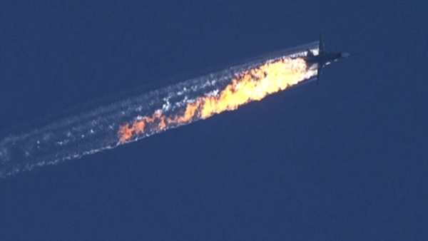 Turkish Air Force F-16s shot down a Russian jet near the Syrian border on Tuesday