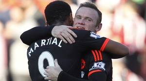 Anthony Martial and Wayne Rooney look set to boost Manchester United's attack