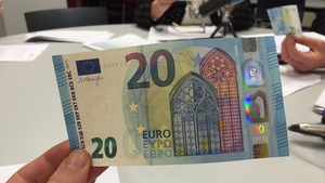4.3 billion of the new €20 note has been produced so far