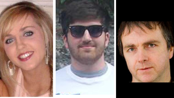 Niamh O'Connor, Barry Davis Ryan and Barry Ryan senior all died in the accident