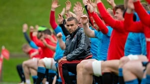 Munster go through their paces at training in Limerick