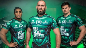 Connacht play Munster at 5.15pm on Saturday