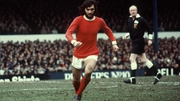 George Best in action for Manchester United in 1972