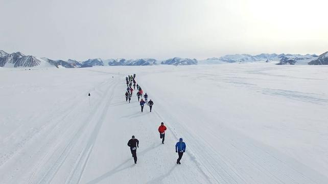 VIDEO: Irish bronze in -20C Antarctic marathon