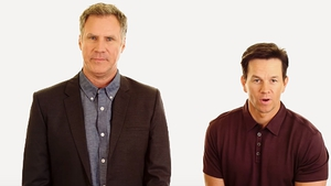 Will Ferrell and Mark Wahlberg made the announcement on YouTube