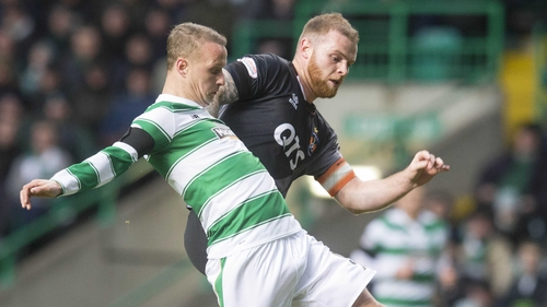 It was a frustrating day at the office for Leigh Griffiths and Celtic