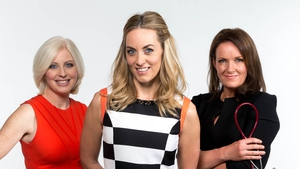 Aoife Hearne left with Kathryn Thomas and Dr Ciara Kelly