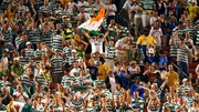 Celtic fans during a friendly match against Boca Juniors in Cleveland in 2003