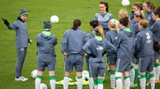 Sue Ronan (l) believes her side can overcome Spain