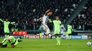 Mario Mandzukic of Juventus scores the game's only goal