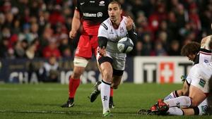 After a six-week absence Ruan Pienaar returns to Ulster side