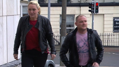 Lynsey Ivory and David Ward had pleaded guilty over the fraud attempt