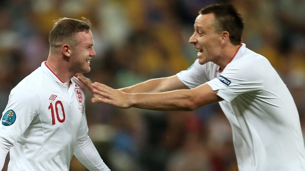 Wayne Rooney and John Terry are the only English players in the World XI shortlist
